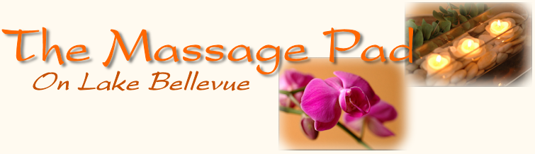 Book an appointment with The Massage Pad on Lake Bellevue